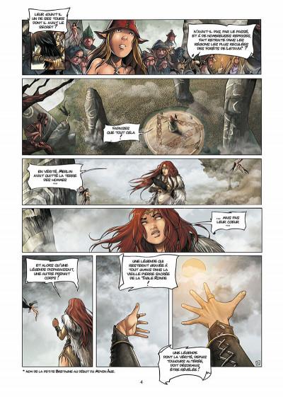 Page 5 lancelot tome 1 - claudas des terres désertes
