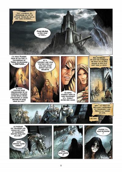 Page 6 lancelot tome 1 - claudas des terres désertes