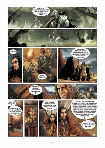 Page 8 lancelot tome 1 - claudas des terres désertes