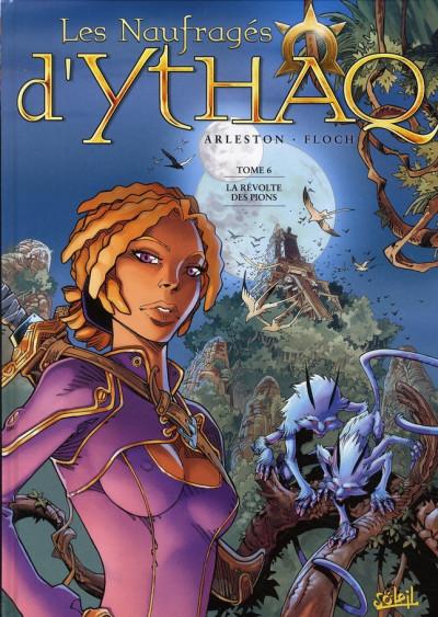 Couverture les naufragés d'ythaq tome 6 - la révolte des pions