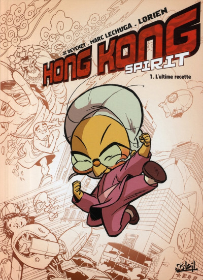 Couverture hong kong spirit tome 1 - l'ultime recette