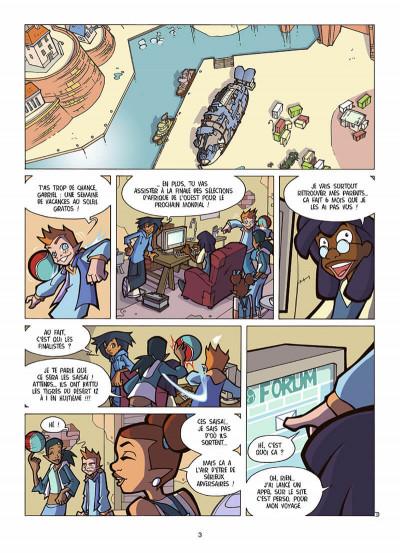 Page 4 foot 2 rue tome 8 - Dakar