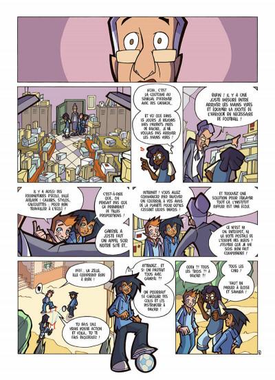Page 7 foot 2 rue tome 8 - Dakar