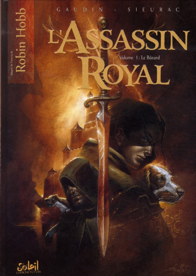 Couverture l'assassin royal tome 1 - le bâtard