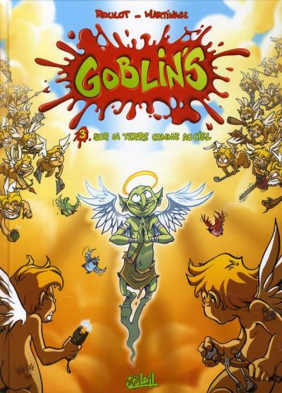 Couverture goblin's tome 3 - sur la terre comme au ciel