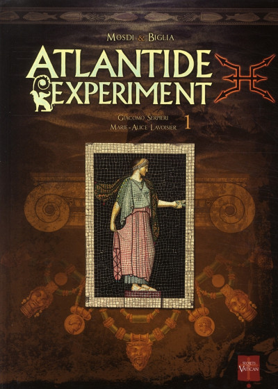 Couverture atlantide experiment tome 1