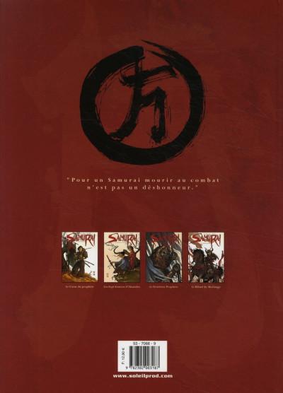 Dos Samuraï tome 4