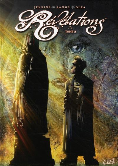 Couverture révélations tome 3 (édition 2008)