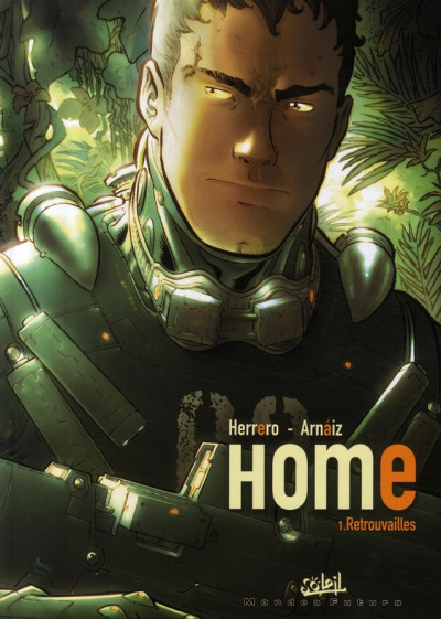 Couverture home tome 1 - retrouvailles