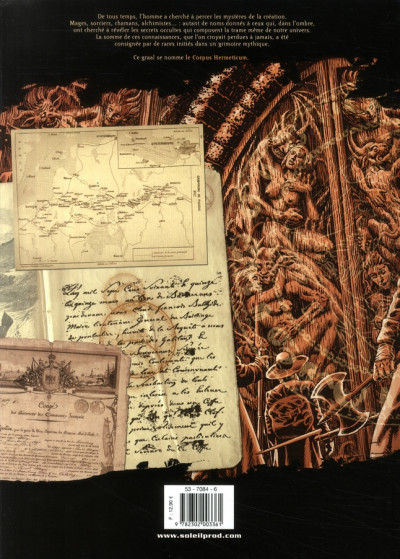 Dos corpus hermeticum tome 4 - les aigles du crépuscule