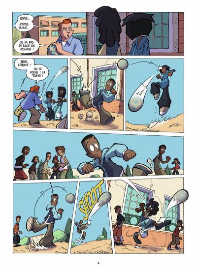 Page 5 foot 2 rue tome 2 - une fille dans les buts