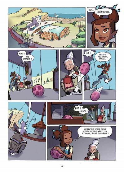 Page 7 foot 2 rue tome 2 - une fille dans les buts