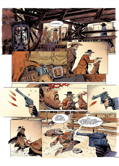 Page 3 durango tome 14 - un pas vers l'enfer