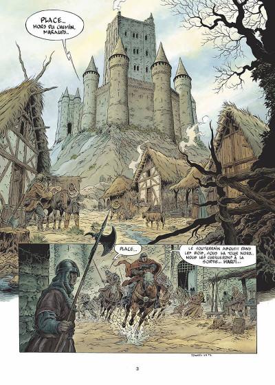 Page 4 légende tome 4 - le maître des songes