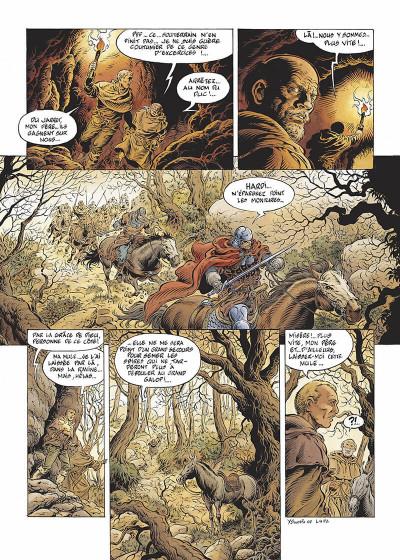 Page 5 légende tome 4 - le maître des songes