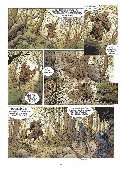 Page 7 légende tome 4 - le maître des songes