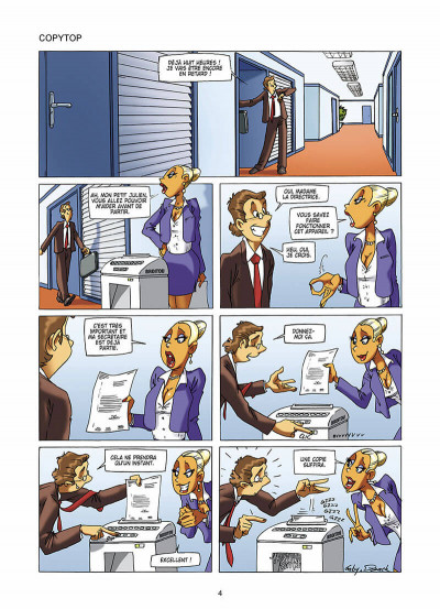 Page 5 les blondes tome 9
