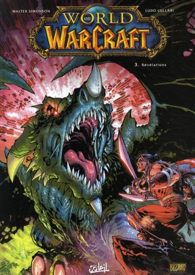 Couverture world of warcraft tome 3 - révélations