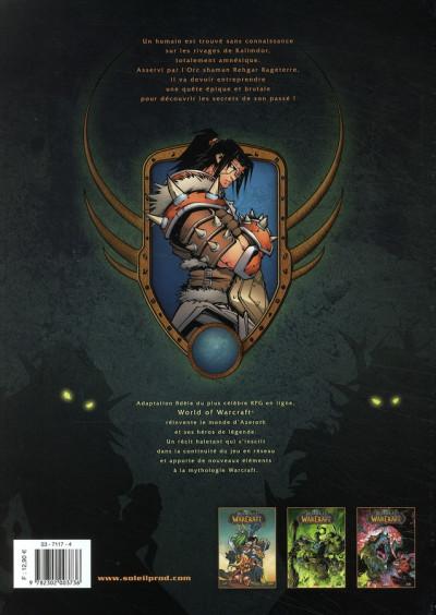 Dos world of warcraft tome 3 - révélations
