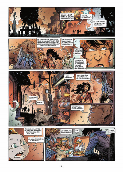 Page 5 lanfeust des étoiles tome 8 - le sang des comètes