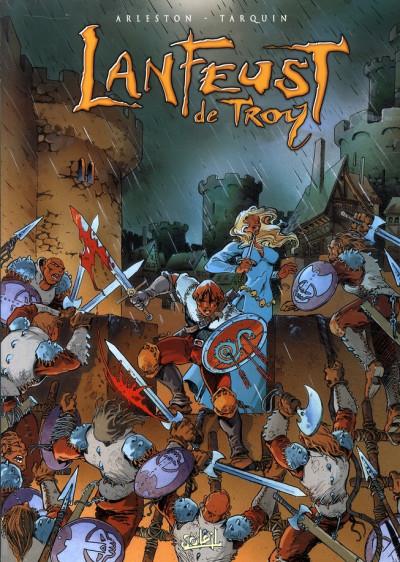 Couverture lanfeust de troy - coffret tome 1 à tome 4 (édition 2009)
