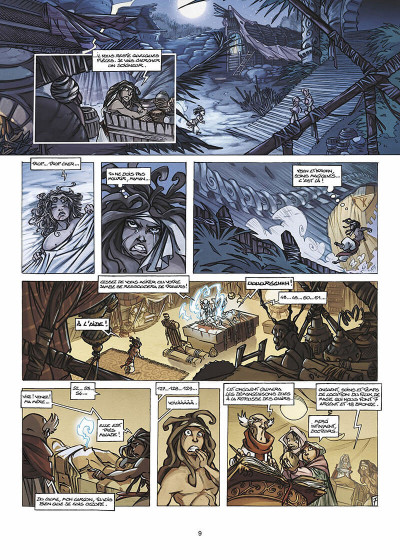 Page 0 Tykko des sables tome 1
