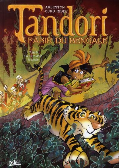 Couverture tandori tome 3 - un livre dans la jungle