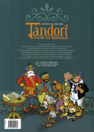 Dos tandori tome 3 - un livre dans la jungle
