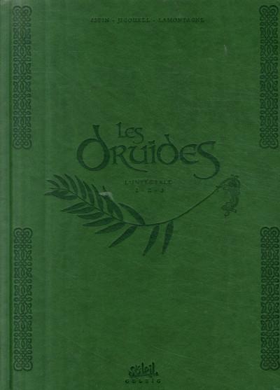 Couverture les druides - intégrale tome 1 à tome 3