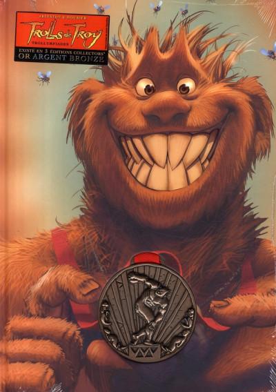 Couverture trolls de troy tome 11 - collector médaille de bronze