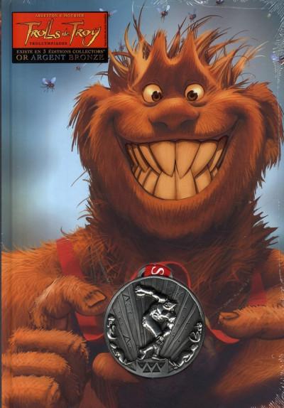 Couverture trolls de troy tome 11 - collector médaille d'argent