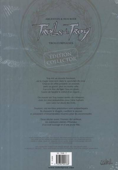 Dos trolls de troy tome 11 - collector médaille d'argent