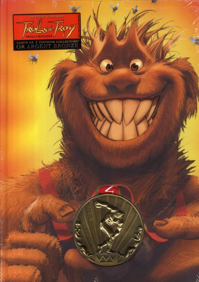 Couverture Trolls de Troy - édition collector tome 11 - médaille d'or