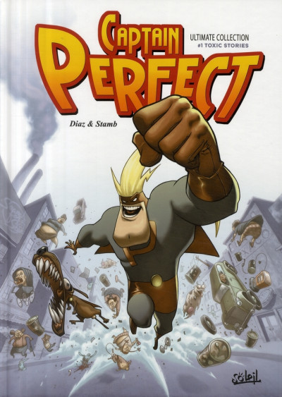 Couverture captain perfect ; ultimate collection
