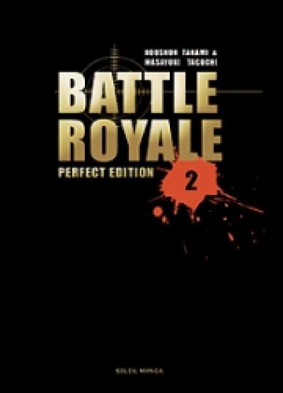 Couverture battle royale - deluxe tome 2