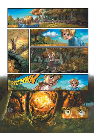 Page 2 yuna tome 1 - la prophétie de winog