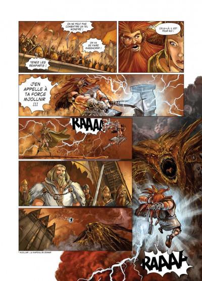 Page 3 le crépuscule des dieux tome 3 - fafnir