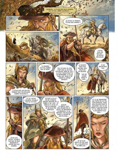 Page 5 le crépuscule des dieux tome 3 - fafnir