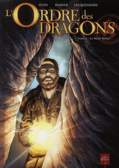 image de l'ordre des dragons tome 2 - le mont moïse