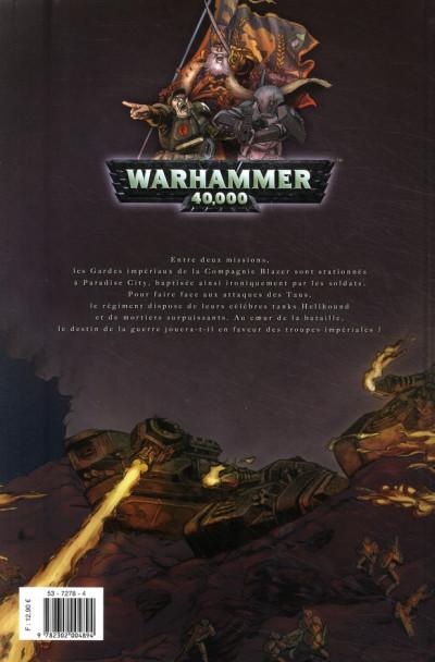 Dos warhammer 40.000 tome 5 - à l'épreuve du feu