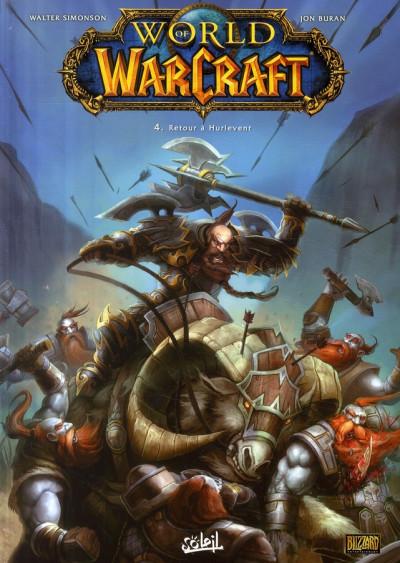 Couverture world of warcraft tome 4 - retour à hurlevent