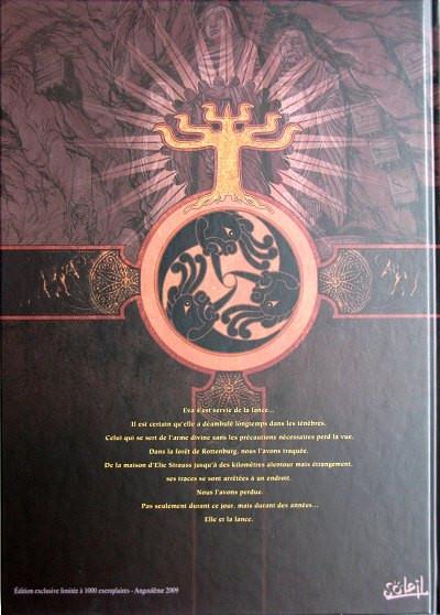 Dos l'ordre des dragons tome 2 N&B