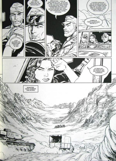 Page 1 l'ordre des dragons tome 2 N&B