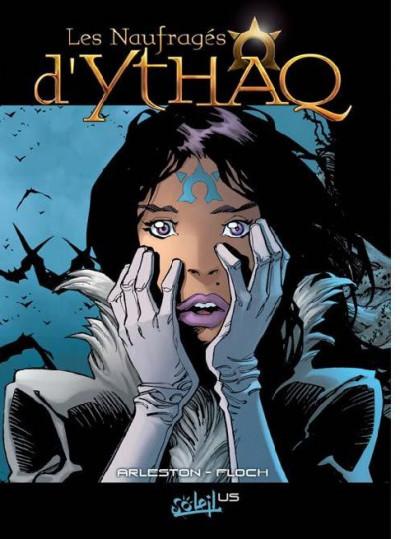 Couverture les naufragés d'ythaq tome 1 - format comics