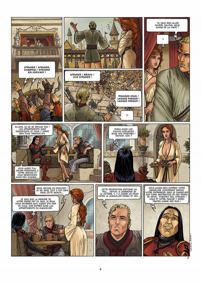 Page 5 lans sirling tome 3 - rosyalle