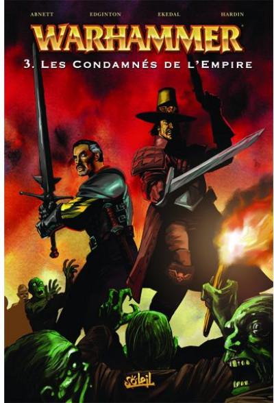 Couverture warhammer tome 3 - les condamnés de l'empire