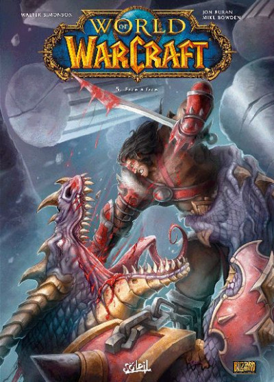 Couverture world of warcraft tome 5 - face à face