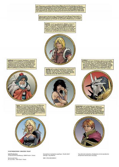 Page 2 les forêts d'opale tome 6 - le sortilège du pontife