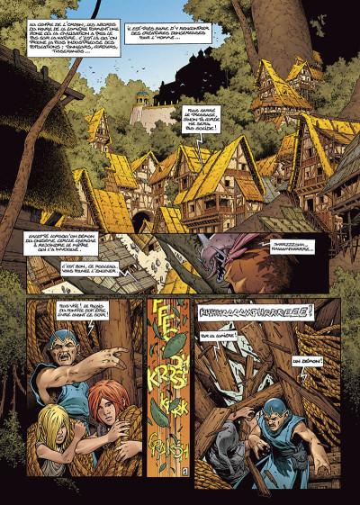 Page 3 les forêts d'opale tome 6 - le sortilège du pontife