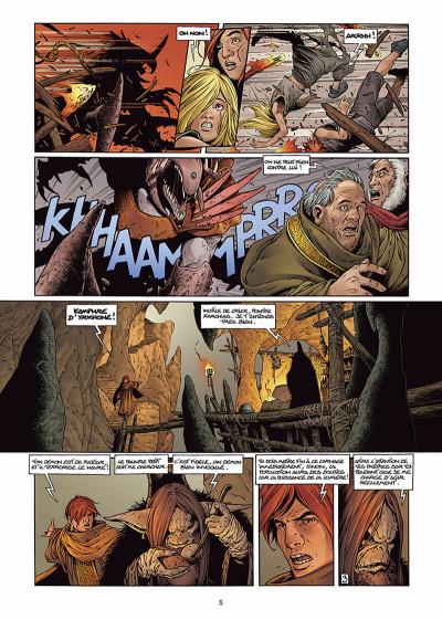 Page 5 les forêts d'opale tome 6 - le sortilège du pontife